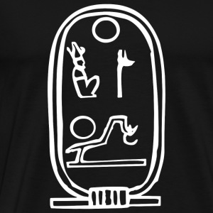 Egyptian Hieroglyph Ancient - Men's Premium T-Shirt