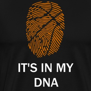 Basketball is in my DNA - Men's Premium T-Shirt
