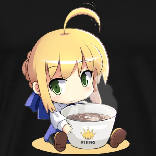 Saber Coffee time - Men's Premium T-Shirt