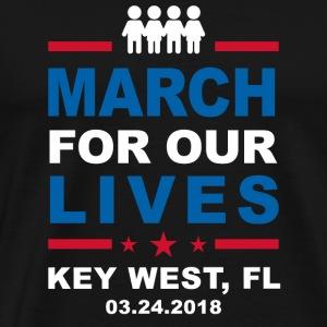 March For Our Lives, Key West - Men's Premium T-Shirt