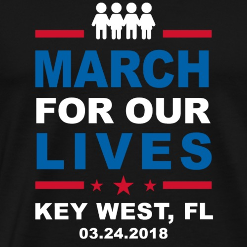 March For Our Lives, Key West - Men's Premium T-Shirt
