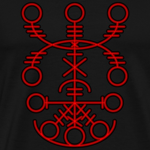 Nabrokarstafur - Necropants - Red - Men's Premium T-Shirt