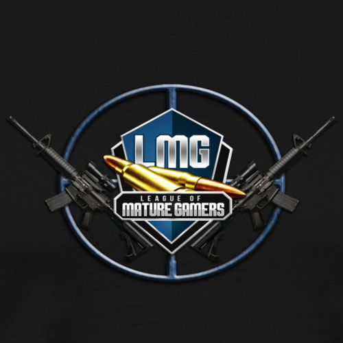 League of Mature Gamers Official Logo - Men's Premium T-Shirt