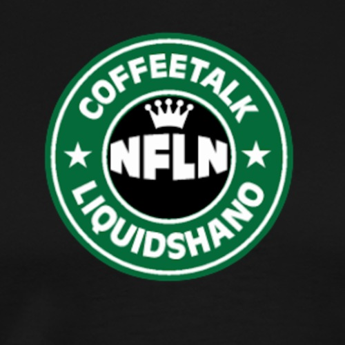CoffeeTalk with Liquidshanobucks - Men's Premium T-Shirt