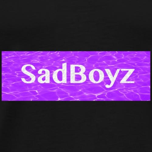SadBoyz Box Logo - Men's Premium T-Shirt