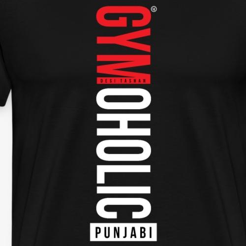 GYMOHOLIC - Men's Premium T-Shirt