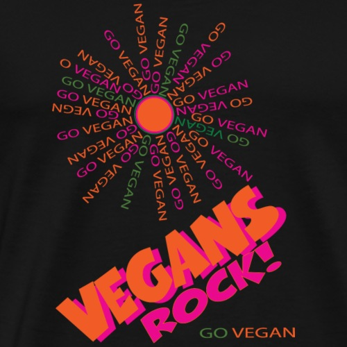 VEGANS Rock! - Men's Premium T-Shirt