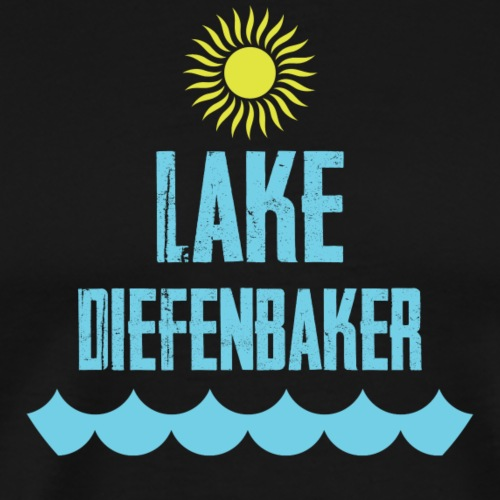 Lake Diefenbaker Sun - Men's Premium T-Shirt