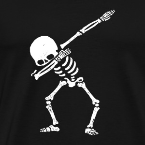 skull dab dance - Men's Premium T-Shirt