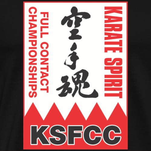 Karate Spirit Full Contact Championships - Men's Premium T-Shirt