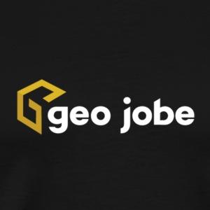 GEO Jobe Corp Logo White Text - Men's Premium T-Shirt