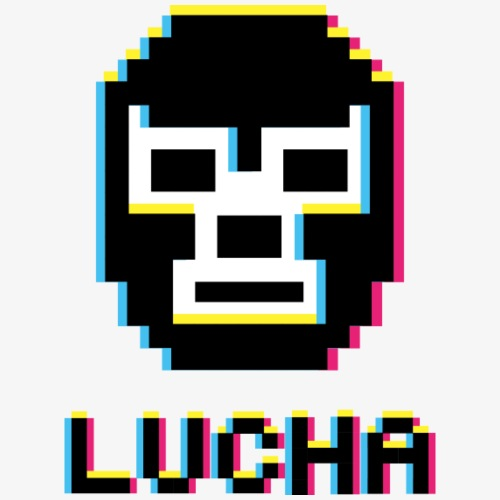 3D LUCHA - Men's Premium T-Shirt