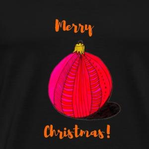 A Christmas bauble - Men's Premium T-Shirt