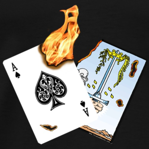 Scorched Cards - Men's Premium T-Shirt