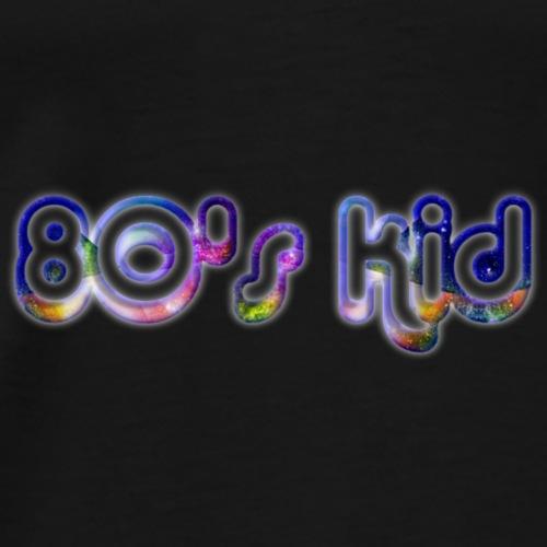 80's Kid Logo - Men's Premium T-Shirt