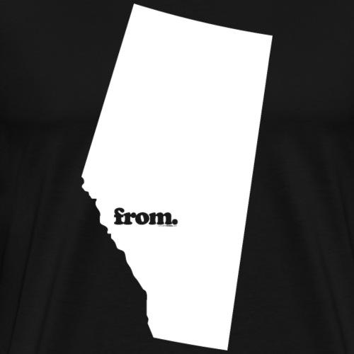 from Alberta - Men's Premium T-Shirt
