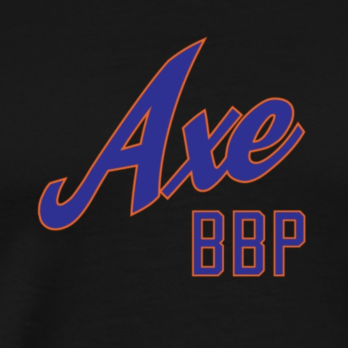 Axe Baseball - Men's Premium T-Shirt