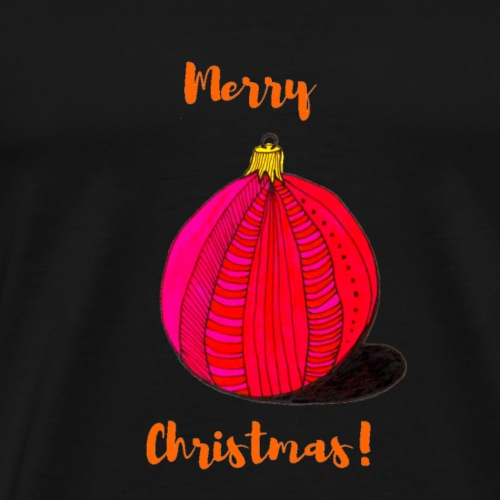 A Christmas bauble - Men's Premium T-Shirt