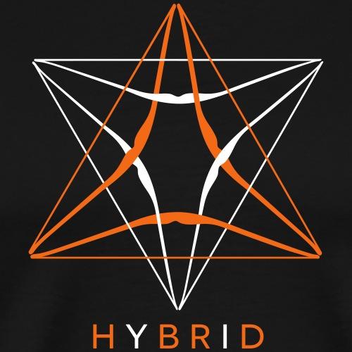 Hybrid (Archery by BOWTIQUE) - Men's Premium T-Shirt