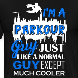 Cool Parkour Guy Shirt - Men's Premium T-Shirt