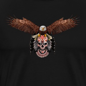 Indian Native Flying Eagle - Men's Premium T-Shirt