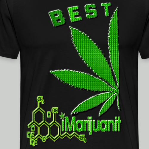 Best Buds iMarijuanit - Men's Premium T-Shirt