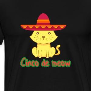 Cinco De Meow - Men's Premium T-Shirt