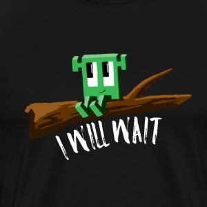I WILL WAIT, Rib-Bit - Men's Premium T-Shirt