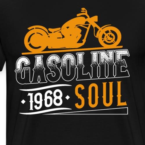 Gasoline Soul Motorcycle - Men's Premium T-Shirt