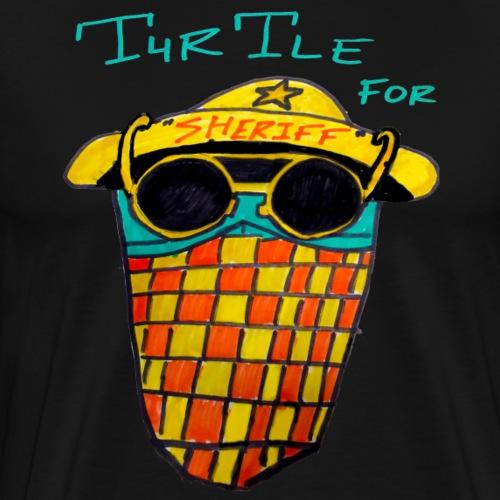 Turtle For Sheriff - Men's Premium T-Shirt