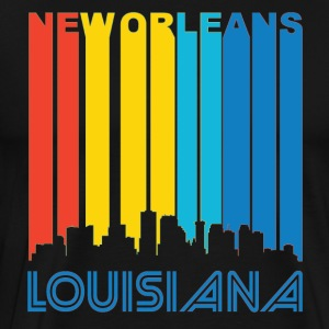 Retro New Orleans Skyline - Men's Premium T-Shirt