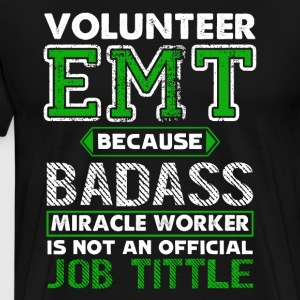 Volunteer EMT Tee Shirt - Men's Premium T-Shirt