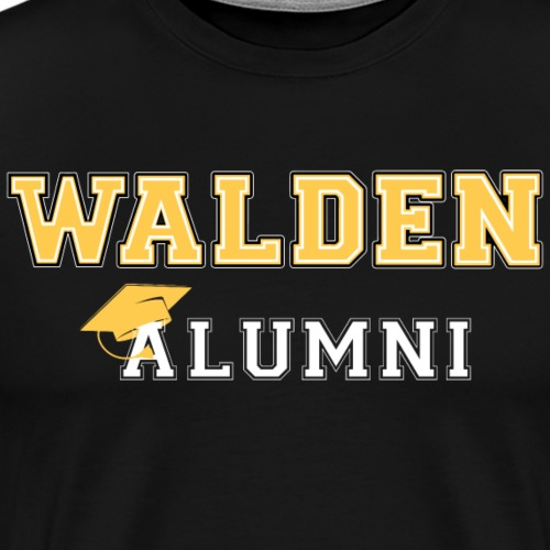 Representing Walden Alumni - Men's Premium T-Shirt