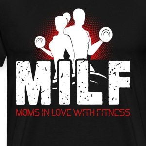 Mom In Love With Fitness Shirt - Men's Premium T-Shirt