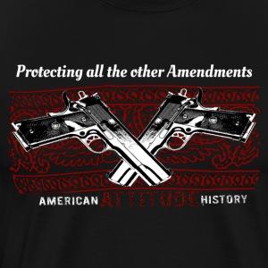 2nd Amendment Protecting all the other Amendments - Men's Premium T-Shirt