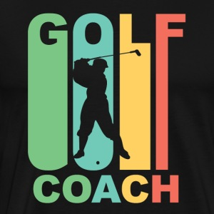 Vintage Golf Coach Graphic - Men's Premium T-Shirt