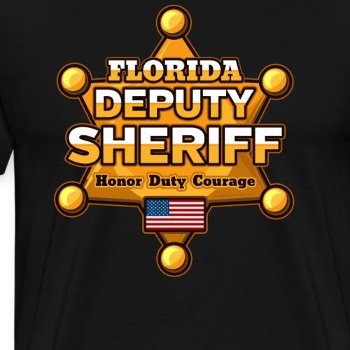 Florida Deputy Sheriff - Men's Premium T-Shirt
