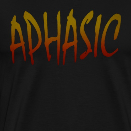 MOYER - APHASIC LOGO - Men's Premium T-Shirt