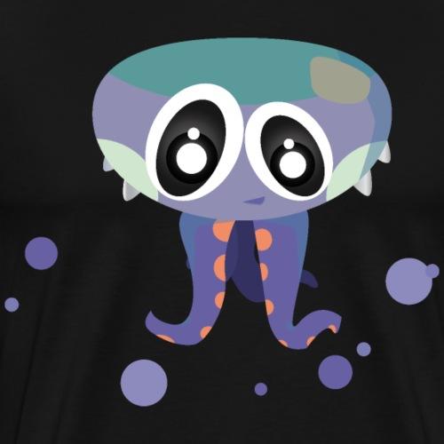 Paul Tentakel Squid octopus sweet - Men's Premium T-Shirt
