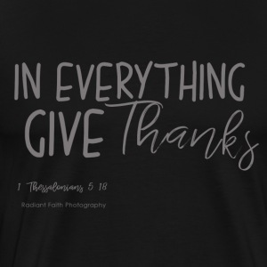 Give Thanks - Men's Premium T-Shirt