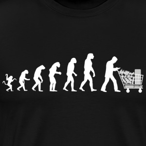 Evolution of man : just for that ! - Men's Premium T-Shirt
