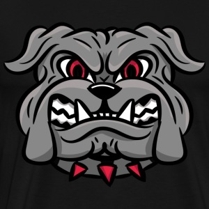 custom bulldog mascot wm-head - Men's Premium T-Shirt