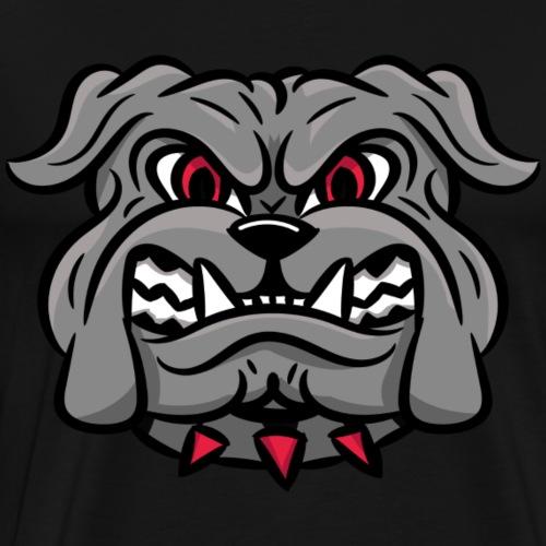 custom bulldog mascot wm-head - Men's Premium T-Shirt