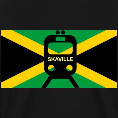Train To Skaville - Men's Premium T-Shirt