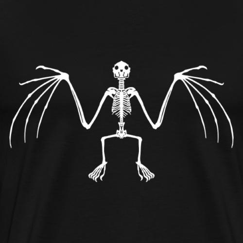 Bat Skeleton - Men's Premium T-Shirt