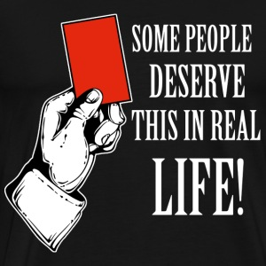 Red card funny designs - Men's Premium T-Shirt