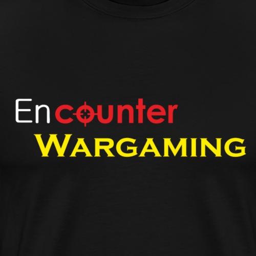 Classic Encounter Wargaming Logo - Men's Premium T-Shirt