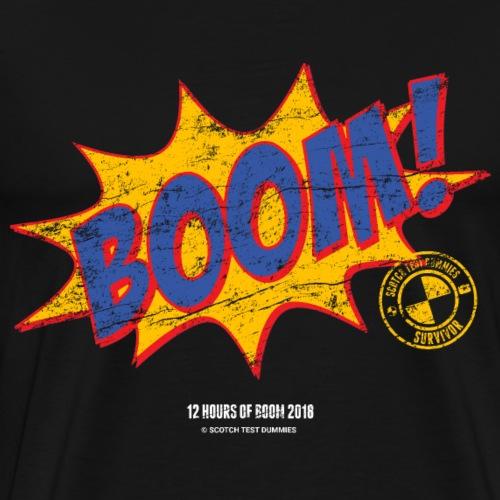 2018 12 Hours of Boom Survivor! - Men's Premium T-Shirt