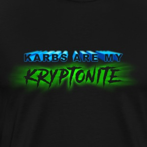 Karbs Are My Kryptonite - Men's Premium T-Shirt