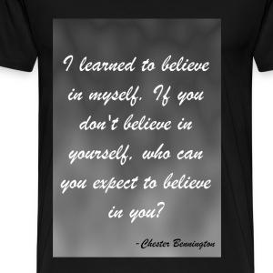 Believe in Myself - Men's Premium T-Shirt